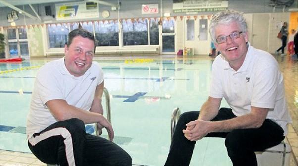 Twee top zwemcoaches Stichting Het Startblok