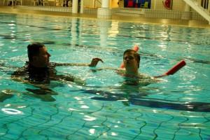Het Startblok, zwemlessen voor mensen met een beperking.