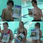 Het Startblok - Hoera wij hebben een zwemcertificaat behaald bij Het Startblok!